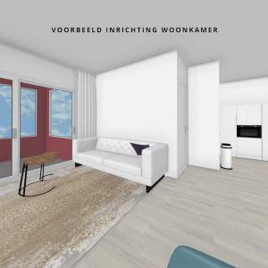 Woonkamer 2-kamerappartement Mercuriushof inrichting_3